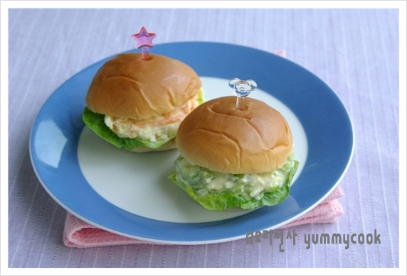썰어 먹는 바게트 샌드위치