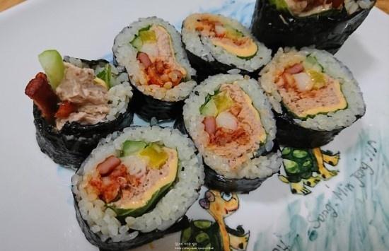 진미채김밥