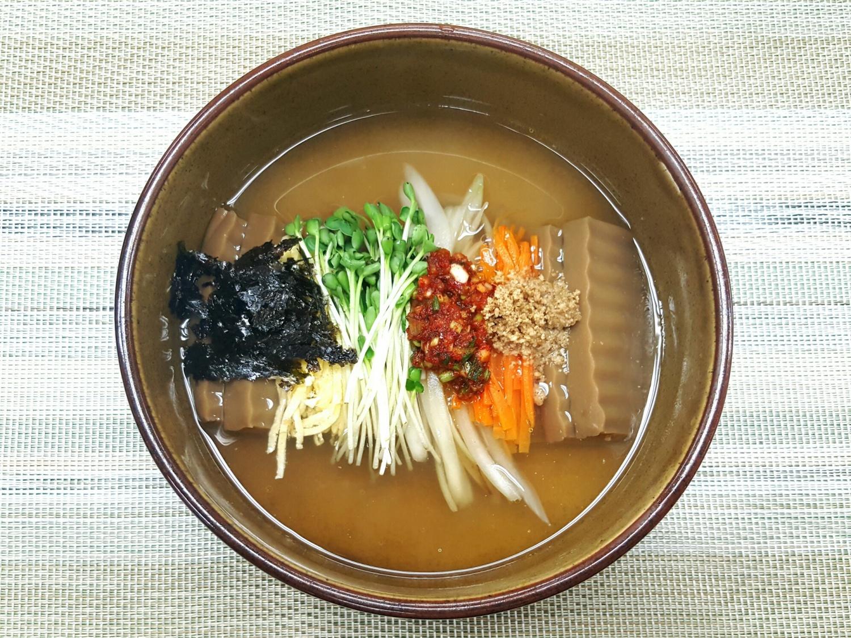 도토리묵밥