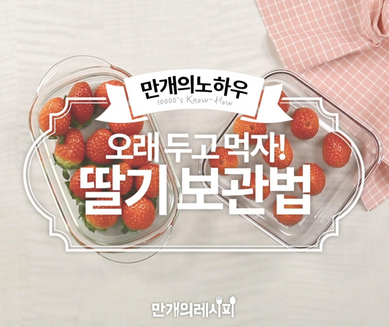 딸기 보관법